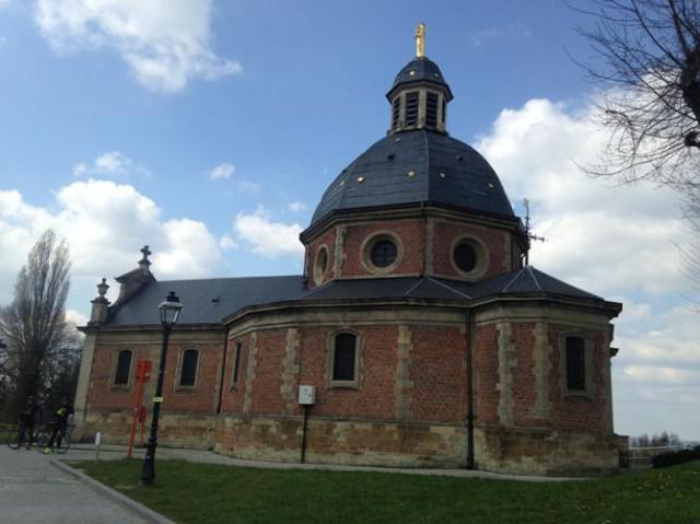 La Chapelle au sommet du Mur de Grammont