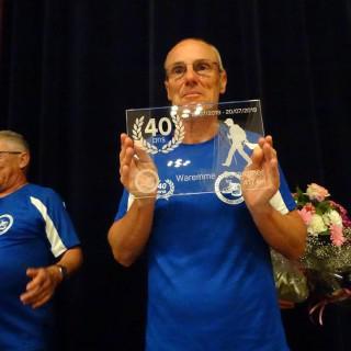 Nouvel exploit de Daniel Lhoest : Waremme (B) - Gérardmer (F) ► 418 km sur une distance quotidienne de +/- 100 km !