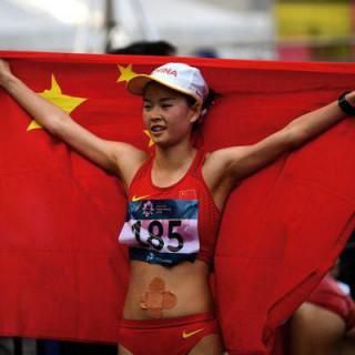 Record du monde du 20 km marche pour Yang Jiayu