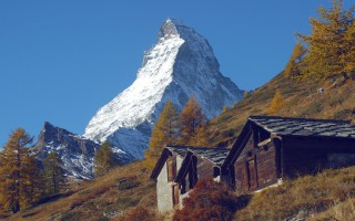 Matterhorn trail in Zermatt