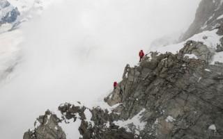 Ascension of the Matterhorn via the Hörnli ridge