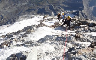 Ascension of the Matterhorn via the Hörnli ridge