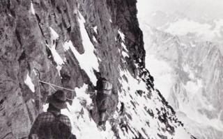 Ascension of the Matterhorn via the Furggen ridge