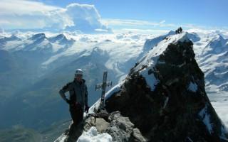 The top of the Matterhorn